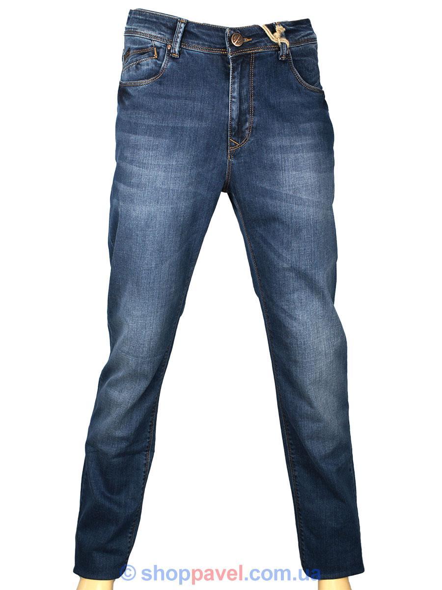 Чоловічі стильні джинси X-Foot 140-2262 синього кольору