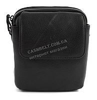 Зручна маленька міцна чоловіча сумка з якісної шкіри PU SAIFILO art. SF2005-1 чорний, фото 1
