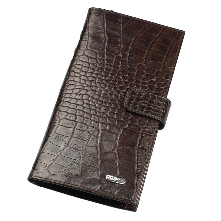 Гаманець чоловічий Canpellini 1417-11 темно-коричневий