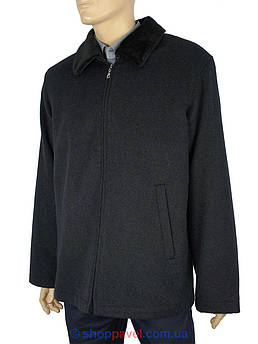 Класичне чоловіче пальто Pier Ferri  01920 сірого кольору