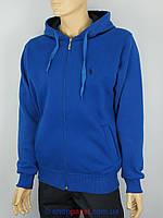 Чоловіча кофта Поло 0460 синього кольору