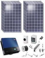 Сетевая солнечная электростанция 10кВт «Зеленый тариф»