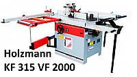 Holzmann KF 315 VF 2000 Комбинированный фрезер форматно-раскроечный станок дереву многофункциональный верстат