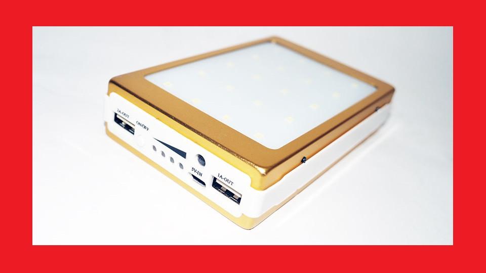 Power Bank 40000 mAh Солнечное зарядное устройство