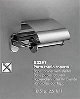 Colombo B2291 Bart Бумагодержатель с крышкой хром