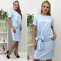 Платье имитация костюма 103 батал (БН)