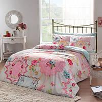 Linens Dian pembe Полуторный комплект постельного белья