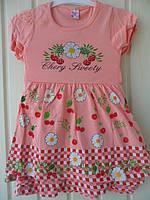 """Платье для девочки """"вишеньки"""""""