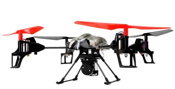 Квадрокоптер на радиоуправлении 2.4Ghz WL Toys Spray V979 водяная пушка