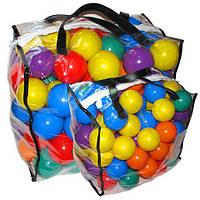 Шарики мягкие 60мм, в сумке 100шт, (6шт), ТМ M-toys