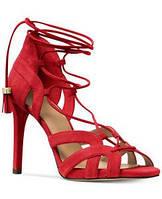 Босоножки замшевые Michael Kors Mirabel оригинал США брендовая обувь на выпускной сандалии