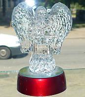 Мини светильник хрустальный Ангел 13 см.