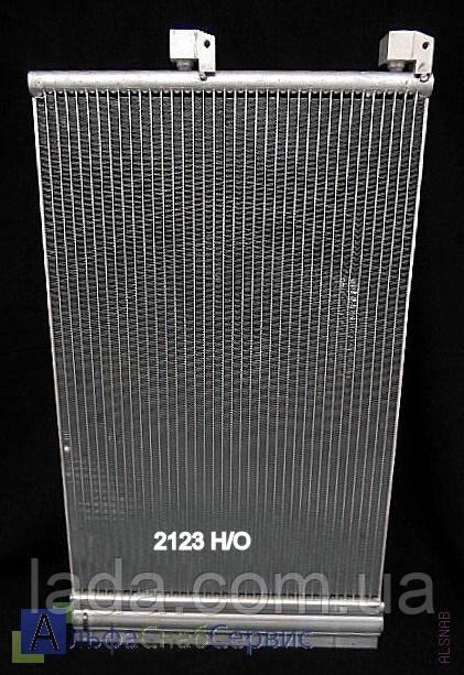 Радіатор кондиціонера Delphi нового зразка ВАЗ 2123, Нива - Шеві