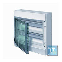 Шкаф IP65 Mistral прозрачная дверь 36M 2ряд. с винтовыми N/PE клеммами 52 подкл., 1SLM006501A1205, ABB