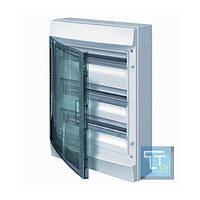 Шкаф IP65 Mistral прозрачная дверь 54M винтовыми N/PE клеммами 52 подкл., 1SLM006501A1208, ABB