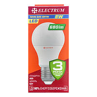 Лампа светодиодная Electrum A55 8W E27 3000