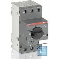 Автоматический выключатель защиты двигателя MS116-0.63, ABB