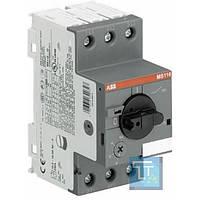 Автоматический выключатель защиты двигателя MS116-6.3, ABB