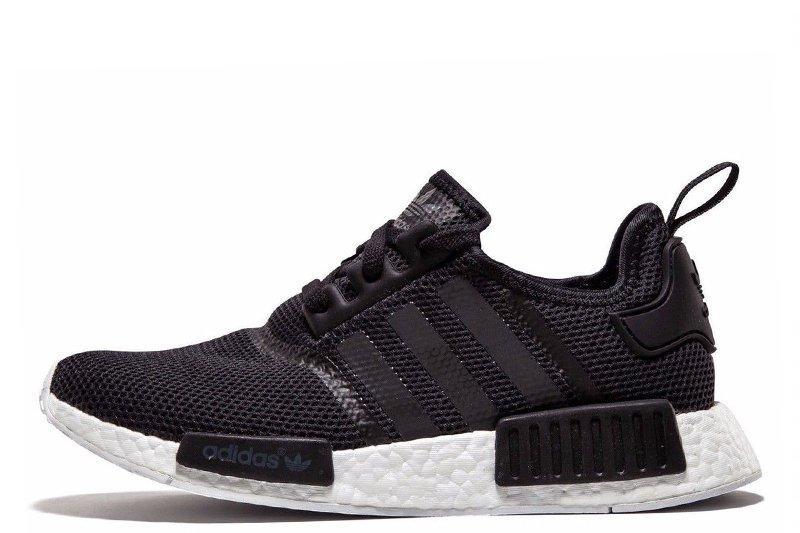 Кроссовки мужские Adidas Nmd R1 Nomad Triple Black - Интернет магазин обуви  Shoes-Mania в beedb46f904