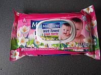 Влажные салфетки «Maximens». 72 шт с клапаном