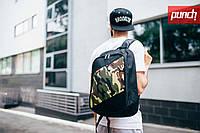 Рюкзак PUNCH - Tilt, Black/Camo, фото 1