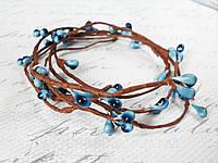 Тычинки на веточке с голубого цвета, фото 1