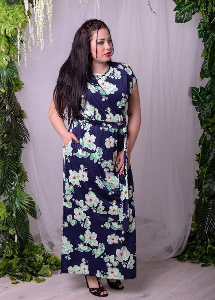 d548b55535b1d17 Летнее платье длинное большого размера, с 48-74 размер: продажа ...