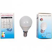 Лампа LED тонкий цоколь 4W холодный
