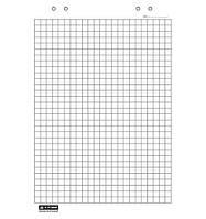 Блок бумаги для флипчартов в клетку, 10 л., 64*90, BM.2295