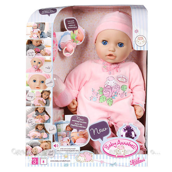 Кукла baby annabell Анабель zapf creation 10 версия 56e66132f7857