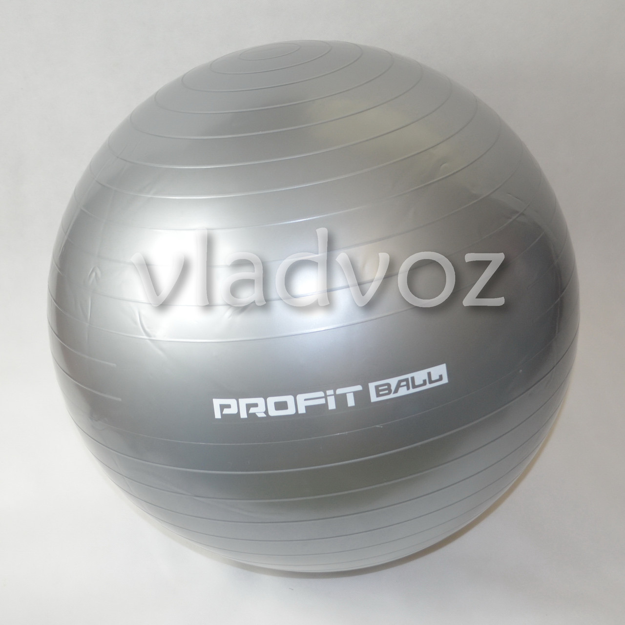 Мяч для фитнеса шар фитбол гимнастический для гимнастики беременных грудничков 65 см серый