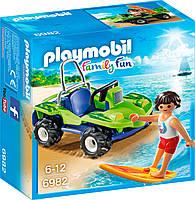 Игровой набор Серфер с квадроциклом, Playmobil