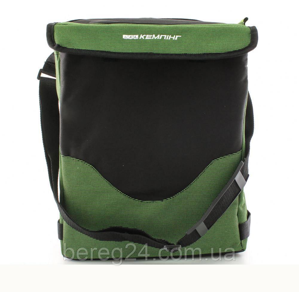 Термосумка (сумка-холодильник) Кемпiнг HB5-717 19 л зеленая iзотермiчна сумка