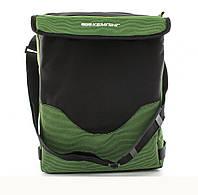 Термосумка (сумка-холодильник) Кемпiнг HB5-717 19 л зеленая iзотермiчна сумка, фото 1