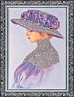 Набор для вышивки бисером на холсте «Виолет»