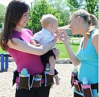 Пояс с карманами для молодых мам Waist Diaper Bag