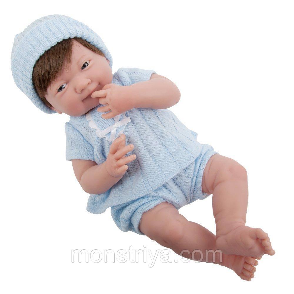 Большая кукла пупс La Newborn Felix Berenguer 38 см