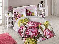 Постельное белье Cotton box Ранфорс Floral Seri 3D  KARINA PEMBE