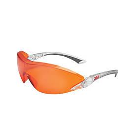 Защитные оранжевые очки 3M