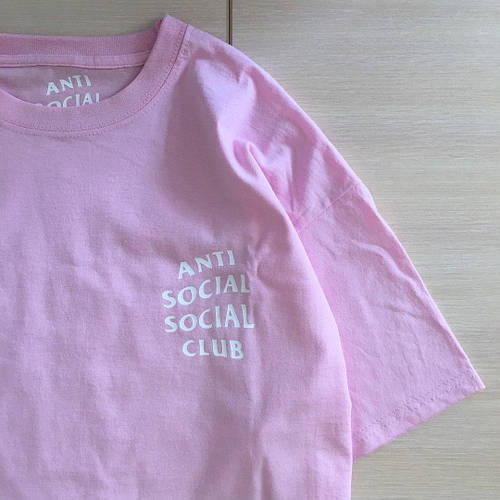 Розовая футболка ASSC | Anti Social Social Club