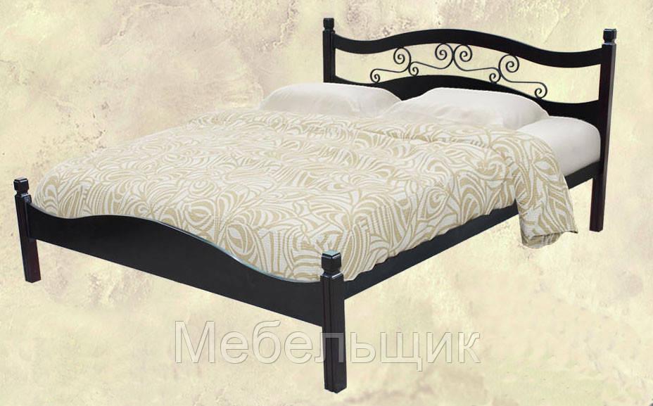 """Двуспальная кровать """"Анастасия"""" 1,6м"""