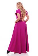 Роскошное платье макси в пол  Алена сирень