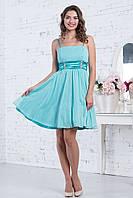 Коктельное платье с пышной юбкой 44-46 р