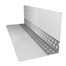 Профиль угловой  ПВХ с сеткой 3 м пог 7смх7см