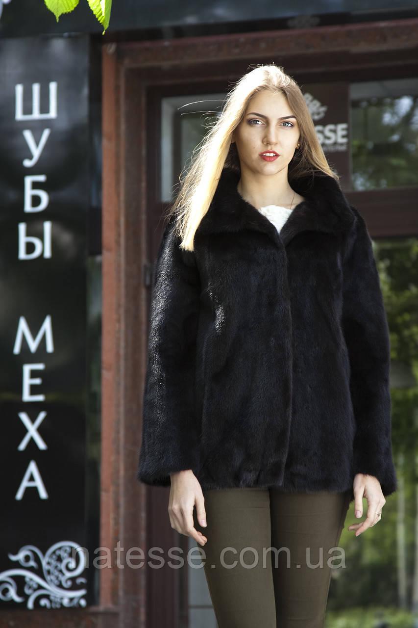 "Шуба из норки ""Шарлотта"" Real mink fur coats jackets"