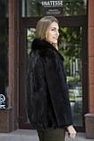 """Шуба из норки """"Шарлотта"""" Real mink fur coats jackets, фото 4"""