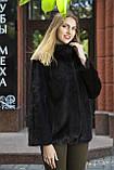 """Шуба из норки """"Шарлотта"""" Real mink fur coats jackets, фото 5"""