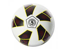 Мяч футбольный VA-0019 (30шт) размер 5, резина, гладкий, 350г, сетка, в кульке,