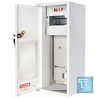 Шкаф распределительный e.mbox.RU-1-P мет. навесной, 1-ф. счетчик,6 мод., 395х175х165 мм, E.Next