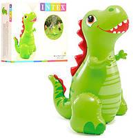 Надувная игрушка Динозавр с фонтаном